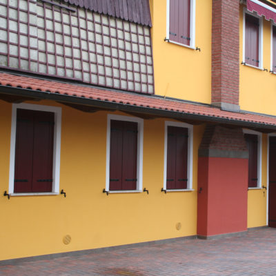 Pensilina residenziale