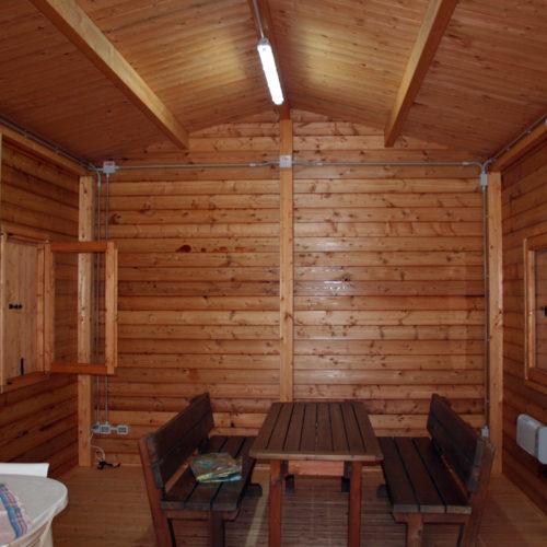 fabbricato in legno: interni