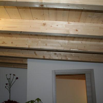 abitazione in legno: dettaglio interni